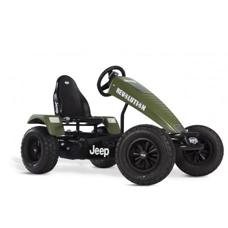 Jeep Revolution pedal go-kart E-BF